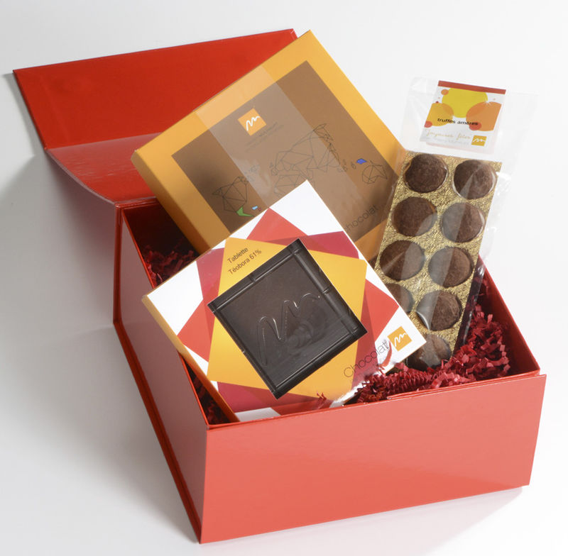 boite cadeau chocolat. Black Bedroom Furniture Sets. Home Design Ideas